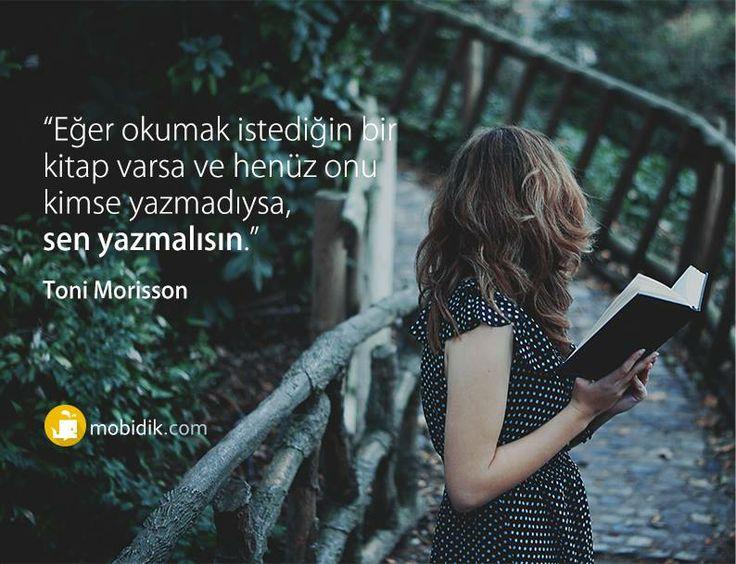 Sen yaz, sen yayınla! www.mobidik.com