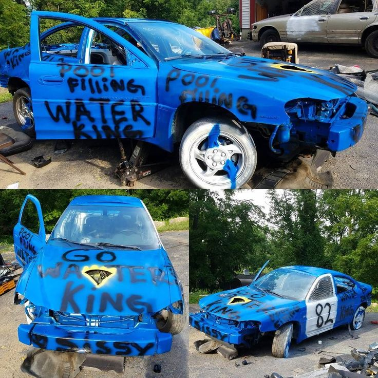 Come out and support Sierra Blasone driving the Water King Car in the Demolition Derby this Monday at 7. Special thanks to Eric & Olga Blasone owners of Mamma Mia's Pizzaria & Sit n Chat Diner! Go Water King! Call 1-862-236-3555 #summer #summertime #sunnydays  #beattheheat #cool #clear #water #likeforlike #swimmingpool #swimming #pool #waterdelivery #bulkwater #poolfilling #NJ #truck #trailer #thenamesaysitall #thebest #gowaterking