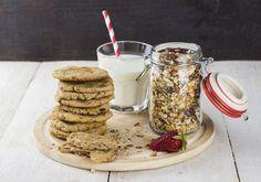 Biscotti con fiocchi d'avena: la ricetta sana a colazione e a merenda