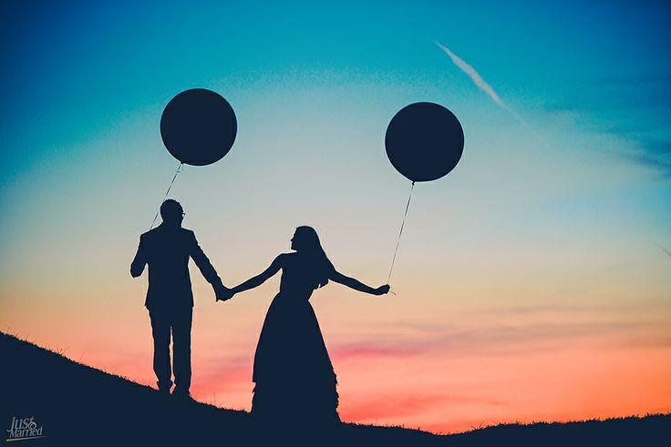 Big wedding baloons!