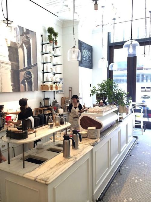 Design Darling: NEW YORK CITY GUIDE: TOBY'S ESTATE COFFEE