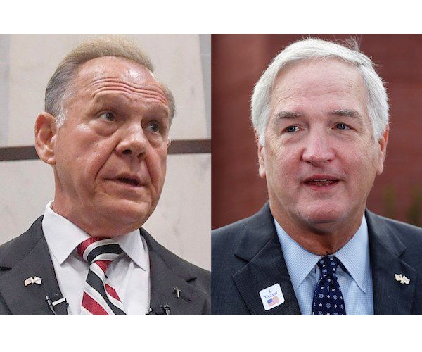 Ahead of President Donald Trump's stump speech for Sen. Luther Strange, R-Ala., Secretary of Housing and Urban Development Ben Carson praised Strange's opponent in the race. Strange will square off with former Alabama Supreme Court Chief Justice Roy Moore in a primary runoff election Tuesday.  #USPolitics