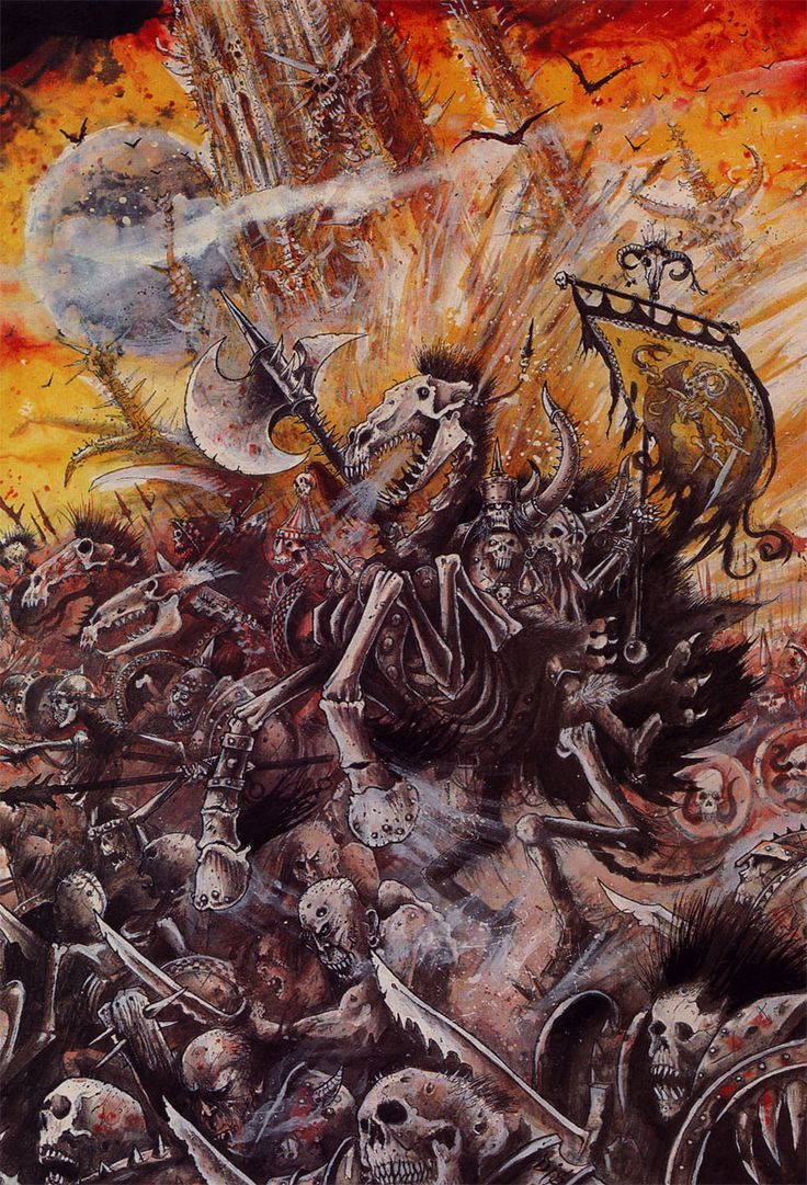 by John Blanche (Not strictly 40k, but Blanche is just a God)