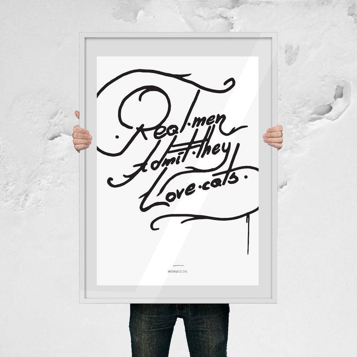 Prawdziwy mężczyzna - brzydki plakat