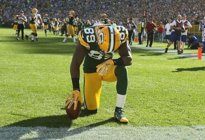 James Jones: New Orleans Saints vs. Green Bay Packers