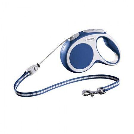 Flexi Vario cord medium blue 5 meter - Flexi dog lead Flexi M medium - globaldogshop.com