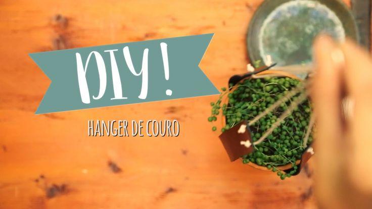 DIY: Hanger de Couro | WESTWING