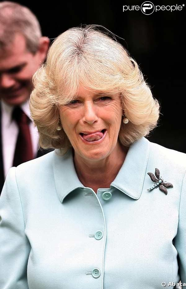 Camilla Parker Bowles - That's just a nasty face!