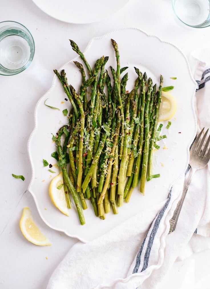 asparagus roasted asparagus recipe lemony roasted simple roasted ...