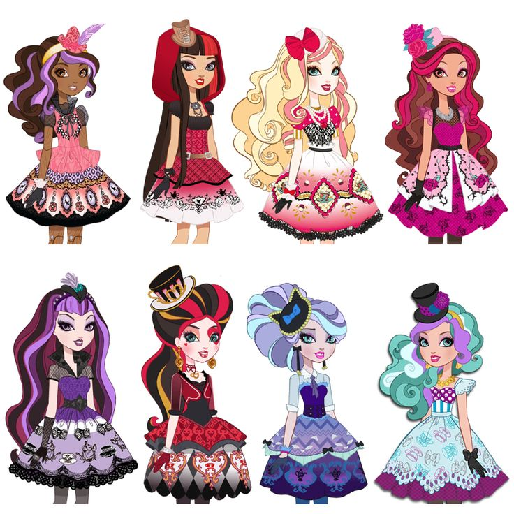 Ever after high costumes for a party