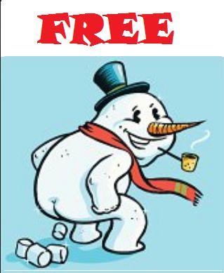 Clip Art Snowman Poop