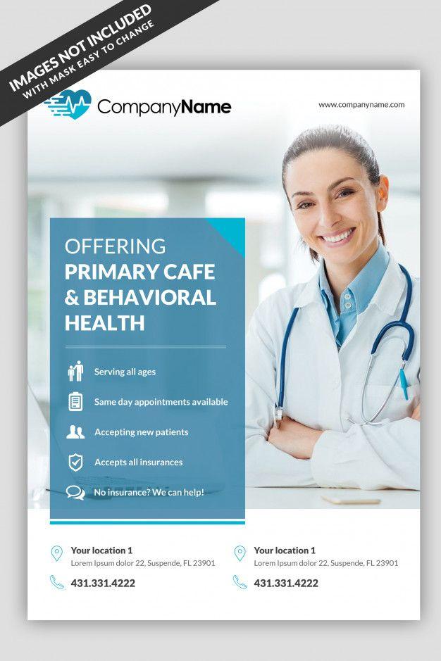 Medical Flyer Template Medical Posters Medical Brochure Medical Design