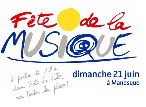 Fête de la musique 2015 #musique, #fête, #manosque, #affiche