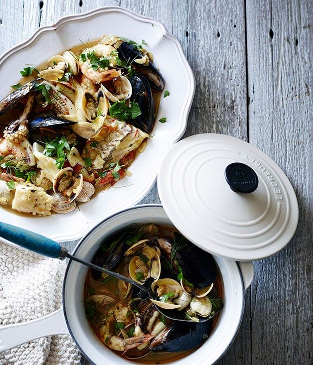 Seafood stew recipe | Pete Evans :: Gourmet Traveller