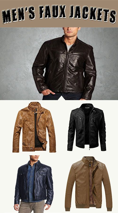 Faux Leather Jackets Online Exclusives Styles For Men