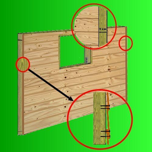 1000 ideas about abri jardin bois on pinterest abris de - Plan cabane de jardin en bois ...