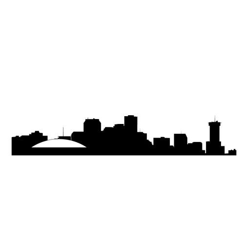 New Orleans Skyline Wall Decal $15 | Tattoo ideas ...