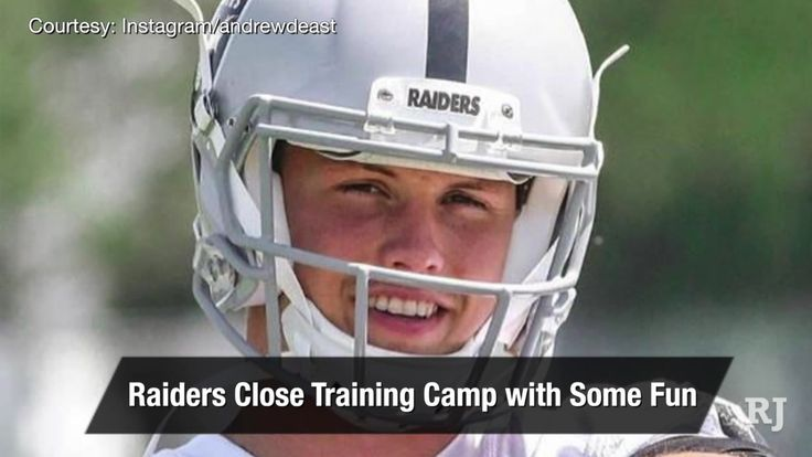 Vegas Nation: Raiders have some fun on the final day of camp https://www.reviewjournal.com/sports/raiders-nfl/raiders/vegas-nation-raiders-have-some-fun-on-the-final-day-of-camp/?utm_campaign=crowdfire&utm_content=crowdfire&utm_medium=social&utm_source=pinterest