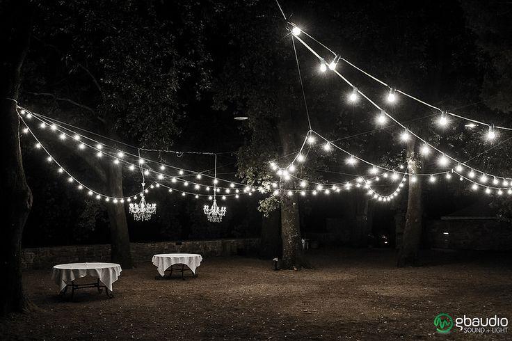 Bulb lamps at Vignamaggio Florence