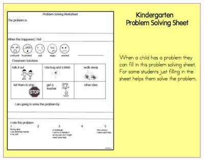 kindergarten social problem solving worksheets 1000. Black Bedroom Furniture Sets. Home Design Ideas