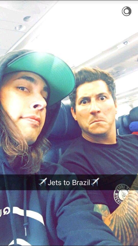 Vic Fuentes and Jaime Preciado