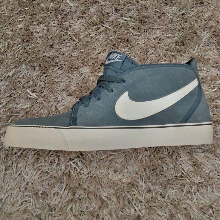 Nike Toki Leather (Armory Slate / White)