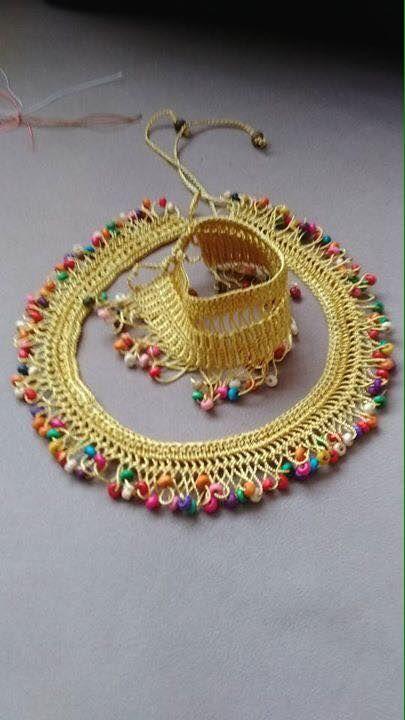 Necklace handma