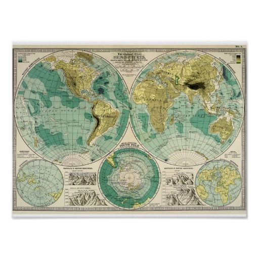 23 best old world maps images on pinterest antique maps old 1897 old world map antique tra poster gumiabroncs Gallery