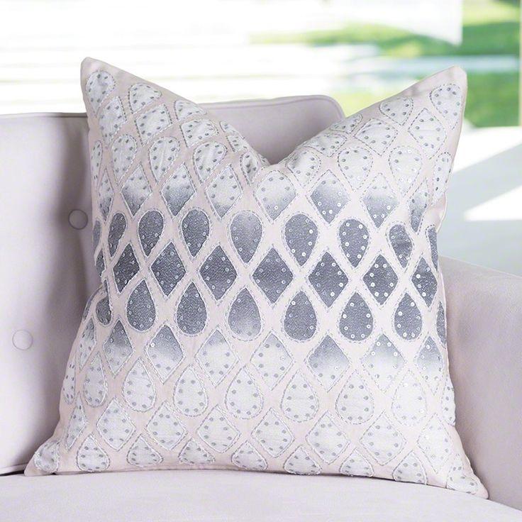Global Views Gem Lace Pillow