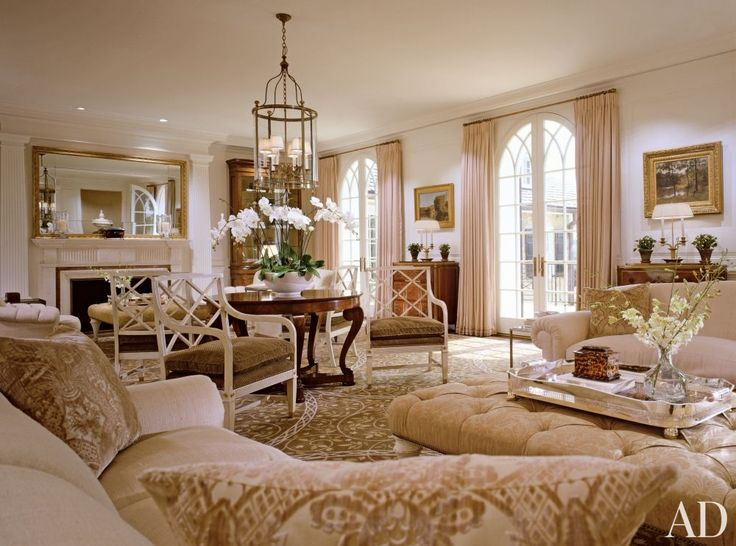 Traditional living room by thomas pheasant and rill decker in virginia