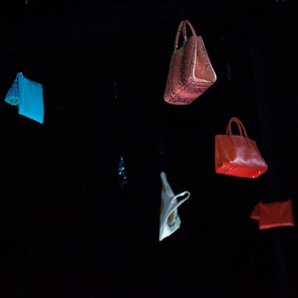 We did say they were light... #LFW #SS14