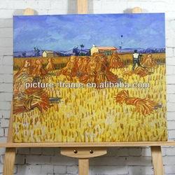 Vincent Van Gogh  Corn Harvest in Provence