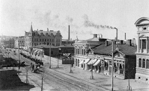Tampere Centrum Circa 1800-1900