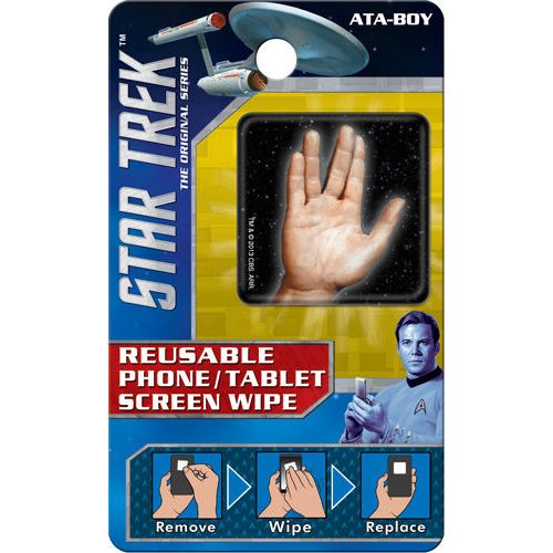 Star Trek Spock Hand Reusable Phone/Tablet Screen Wipe