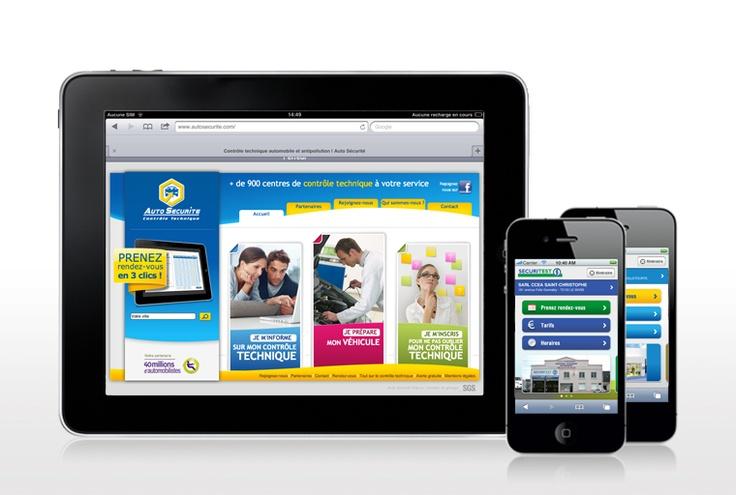Site iPad et mobile - Auto Sécurité et Sécuritest
