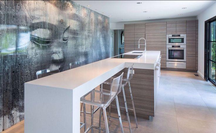 Sleek kitchen in Bedford NY