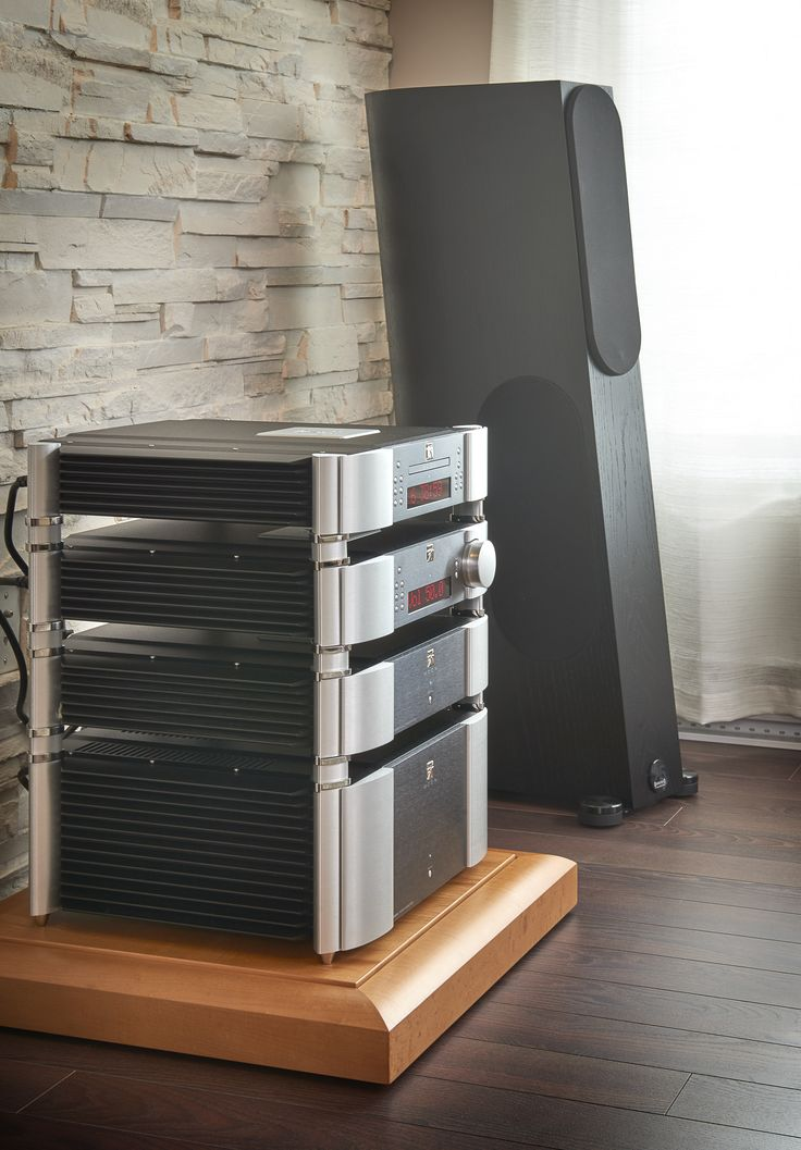 Evolution Series 650D DAC, Evolution series 740P Preamplifier Evolution series 820S Power supply, Evolution series 870A Power Amplifier