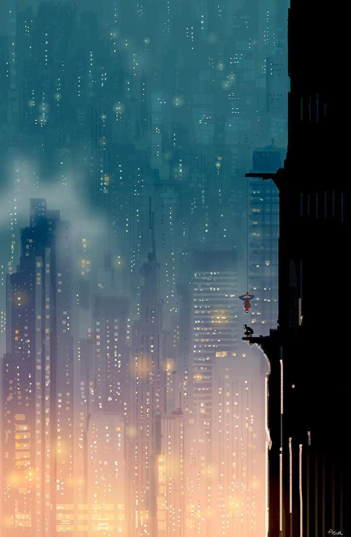 Two Spiders On A Wall By Pascal Campion Fondo De Pantalla