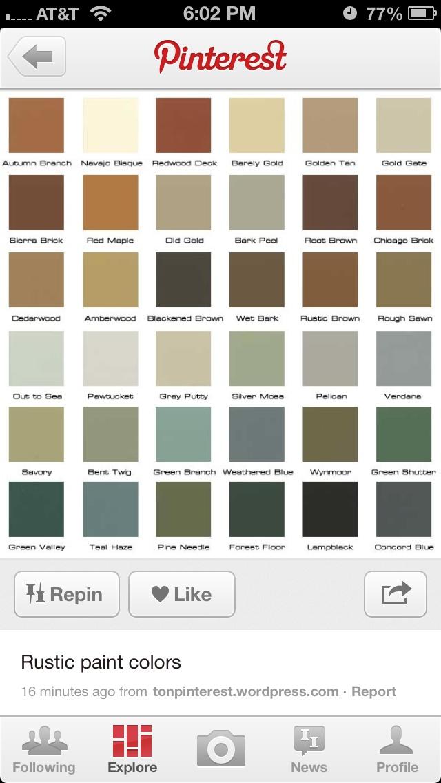 12 Best Paint Ideas Images On Pinterest Color Palettes Colour