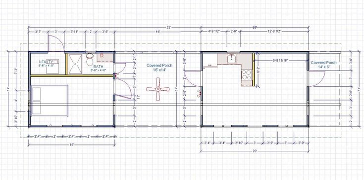 Customer gallery kanga modern cabin 14x20 14x16 w for 14x14 cabin plans