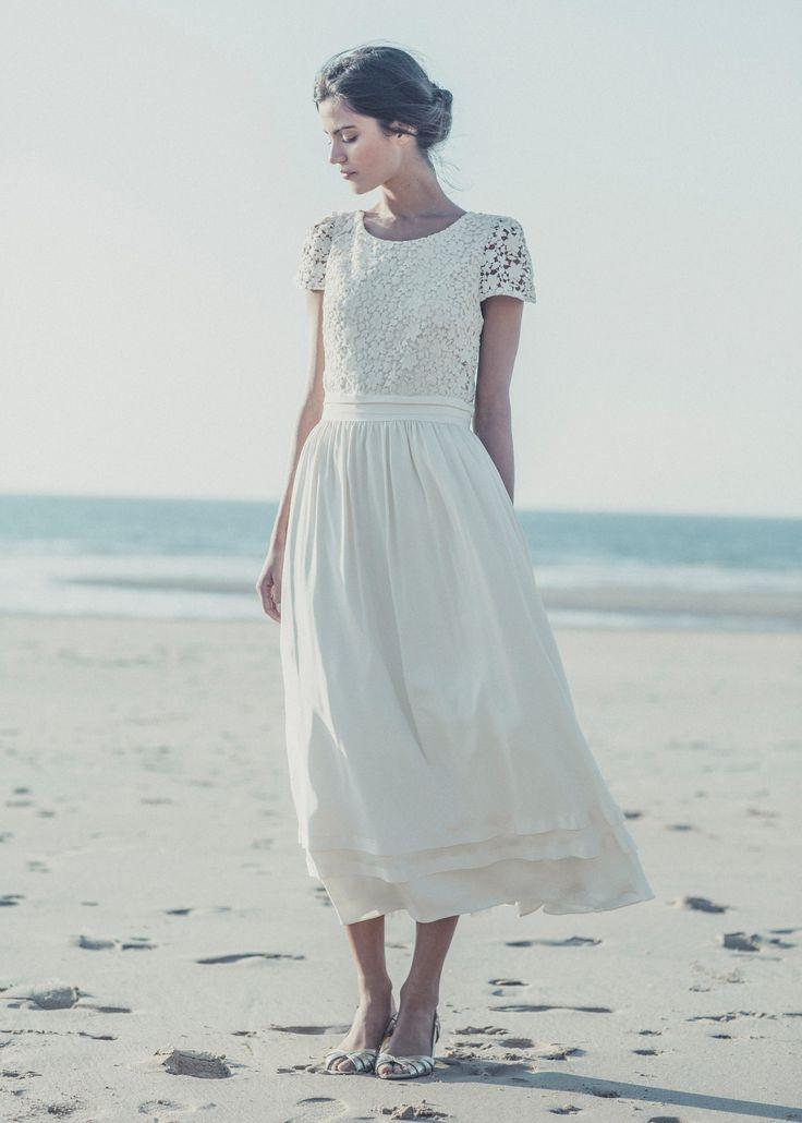 Laure de Sagazan Spring 2014 SAND Wedding Dress.