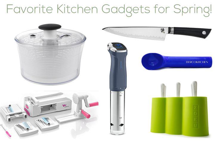 Favorite Kitchen Gadgets for Spring! | Lemons and Basil @Zoku @OXO @Shun Cutlery @Berco Kitchen @WonderEsque