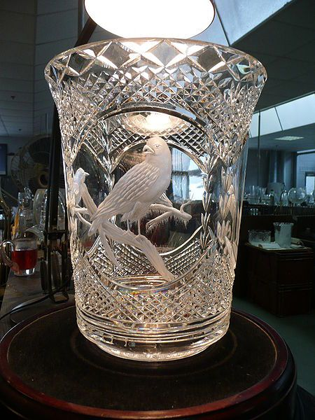 Waterford Crystal. Engraved Glass