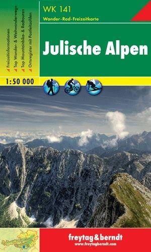 Wandelkaart 141 WK Julische Alpen | Freytag & Berndt