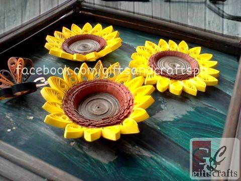 Sunflowers. Sold but can be made to order. #sunflowers #handmade #giftsandcraftsph #papercraft #ilovegcph #flowers