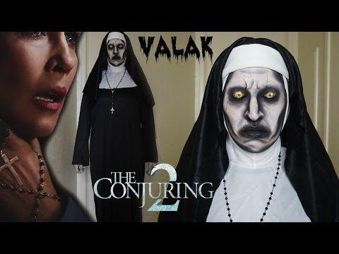 Valak, La Monja de El Conjuro 2/ Maquillaje para Halloween - YouTube