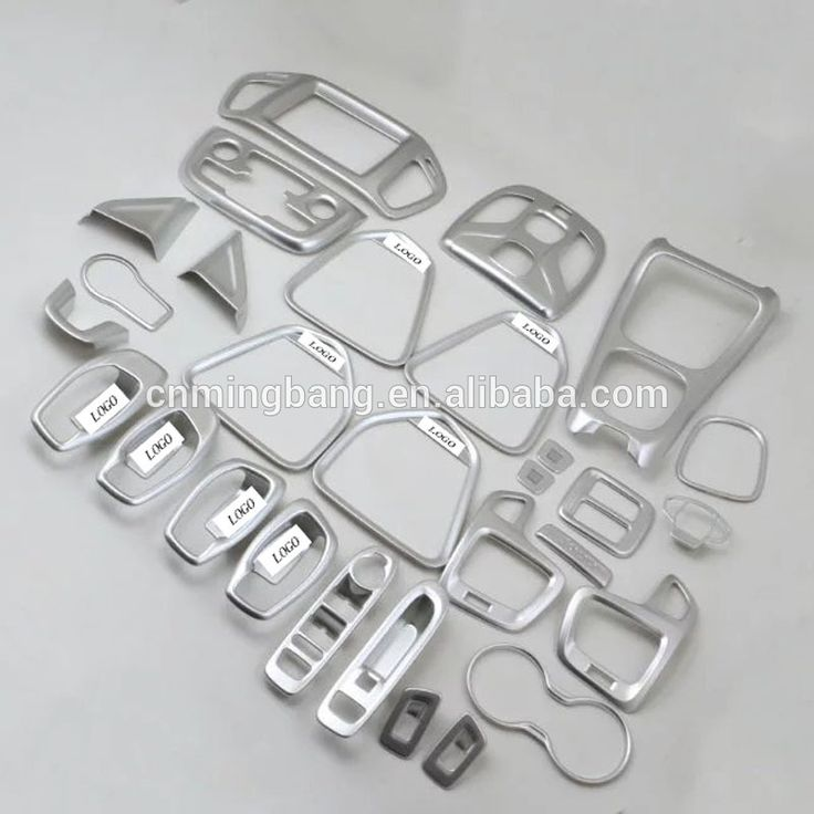 Car Interior Trims Accessories Chrome Inner Decoration Cover For Jeep For Compass 2017