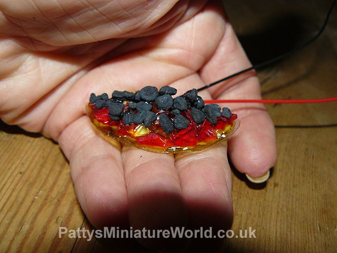 My Dolls Houses and Hand Crafted Miniatures how to build a fire for the…
