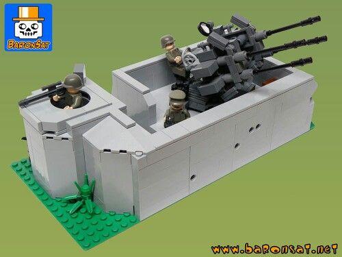 Lego WW2 German bunker