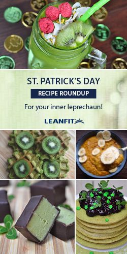 These creations range in everything from gooey-green fudges, shamrock shakes, and four-leaf clover Irish waffles, fit for your inner leprechaun! Plenty of substitutions can be made to fit your dietary needs and preferences.